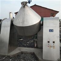 山西高价回收1500升双锥回转真空干燥机