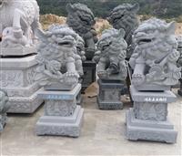 滚绣球狮子石雕 石雕狮子绣球雕塑 惠安石雕石狮子制作