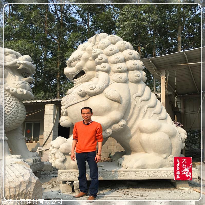 石雕圖片大全 福建石獅價格 石雕大象大理石花崗巖雕刻
