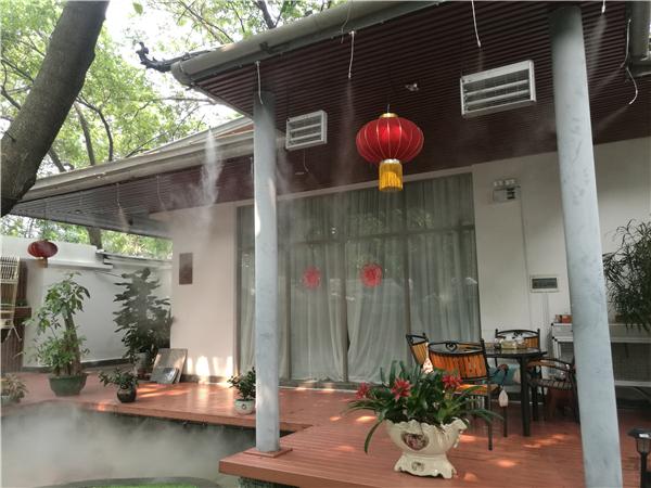 深圳香蜜湖大海文化会所雾森工程