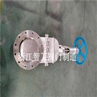 手动不锈钢刀闸阀 暗杆刀闸阀厂家 插板阀 带盖闸板阀DMZ73F-10P