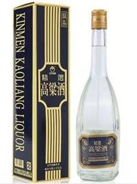 天津金门酒厂 金门精选高粱酒600ml八角瓶型价格