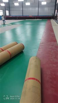 PVC塑胶地板生产厂家 学校运动胶地板 防滑PVC地板 幼儿园室内PVC胶地板