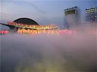 人工湖造雾工程 喷雾降温 降温喷雾 冷雾 景观雾森