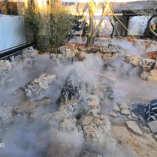 公园人造雾降温设备安装