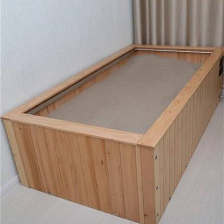 木质款沙疗床 圣康生产盐疗床 厂家生产沙疗床