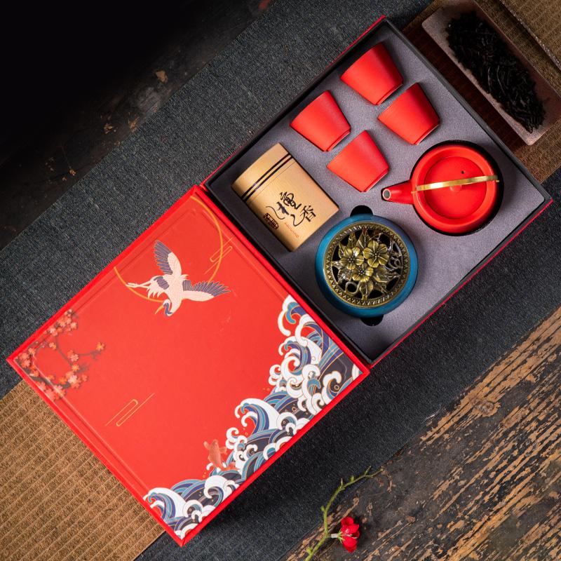 瓷來源 茶具禮盒禮品定制送客戶伴手禮
