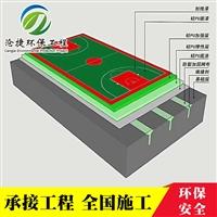 新疆沧捷定制 学校体育场塑胶跑道 透气型塑胶跑道