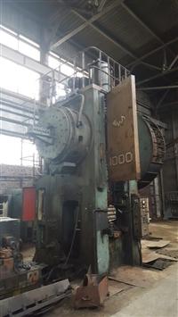 二手热模锻 俄罗斯伏龙涅什TMP1000吨热模锻压力机