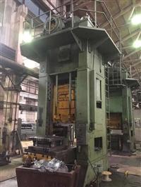 二手闭式单点压力机,俄产630吨,K2538型号