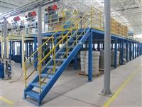 無錫BG真人和AG真人廠家生產鋼平台 十五年生產經驗 用料足承載大質保十年久