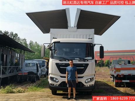 飞翼车厂家直销 天津飞翼车哪里有销售点,翼开启厢式货车价格