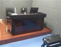 监狱软包审讯用桌图片/检察院讯问桌椅