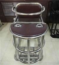 不锈钢审讯用椅优质钢材/加固型不锈钢讯问椅