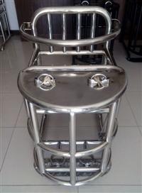 加固不锈钢审讯椅审问椅厂家