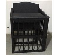 铁质软包犯人栏/专用审讯椅厂家