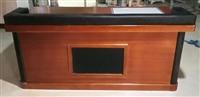 木质审讯用桌带显示器/审讯室专用桌指挥桌