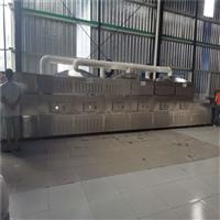 河南黑豆微波熟化机 燕麦片熟化杀菌机 输送带自动上料