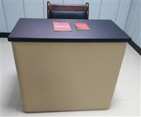 问话室单人桌 审讯用桌法院家具