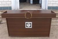 审讯用桌带显示器,西藏讯问桌图办案桌