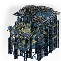 鋼結構多層樓 廣西綠筑夢想 輕鋼樓房生產廠家
