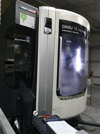 二手五轴联动加工中心 DMG Mori DMU 75 monoBlock