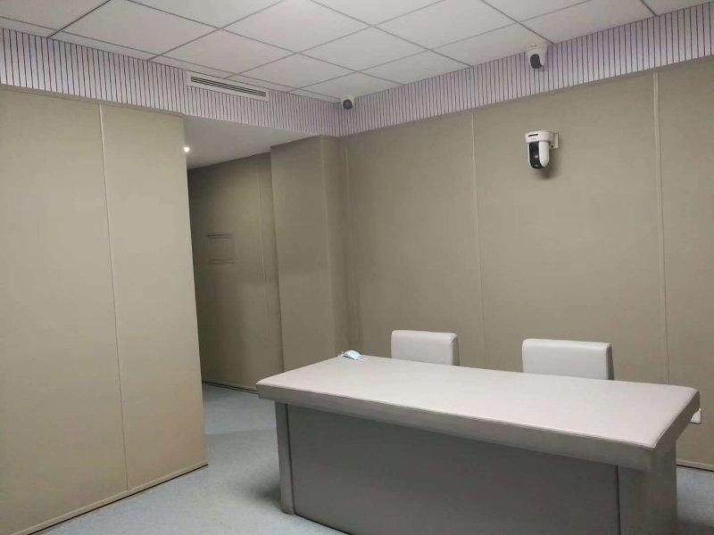纪检留置室防撞软包成型压制流程