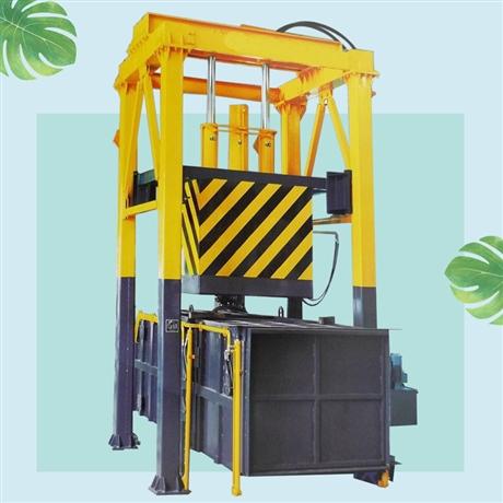 垂直式垃圾转运站设备 乡镇垃圾压缩中转站