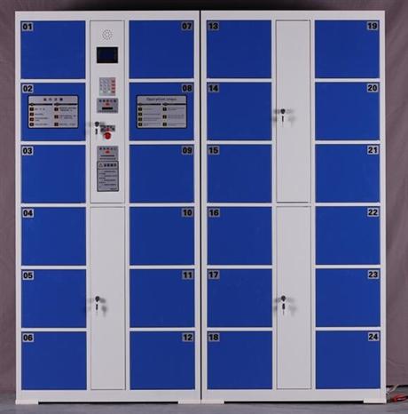 密码刷卡柜 门条码柜 电子存包柜