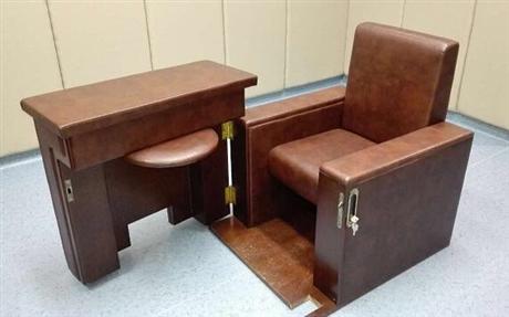 沙发式询问椅 审问椅图片