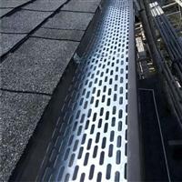 甘肅加工定制屋面天溝價格彩鋁K型落水系統