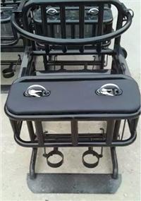 软包铁质审讯椅总代直销/铁质讯问椅型号
