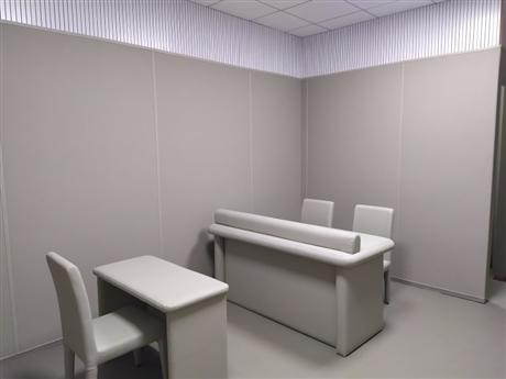 廉政谈话室防撞软包 标准绳化施工及材料选用