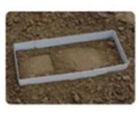 立体足迹提取材料套装盒四枚足迹