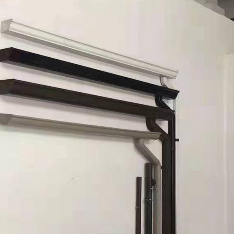 無錫別墅彩鋁雨水天溝檐槽