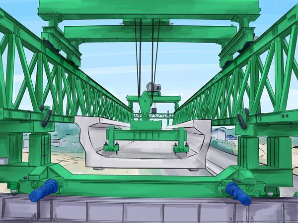 广西柳州140吨架桥机租赁 服务细致入微