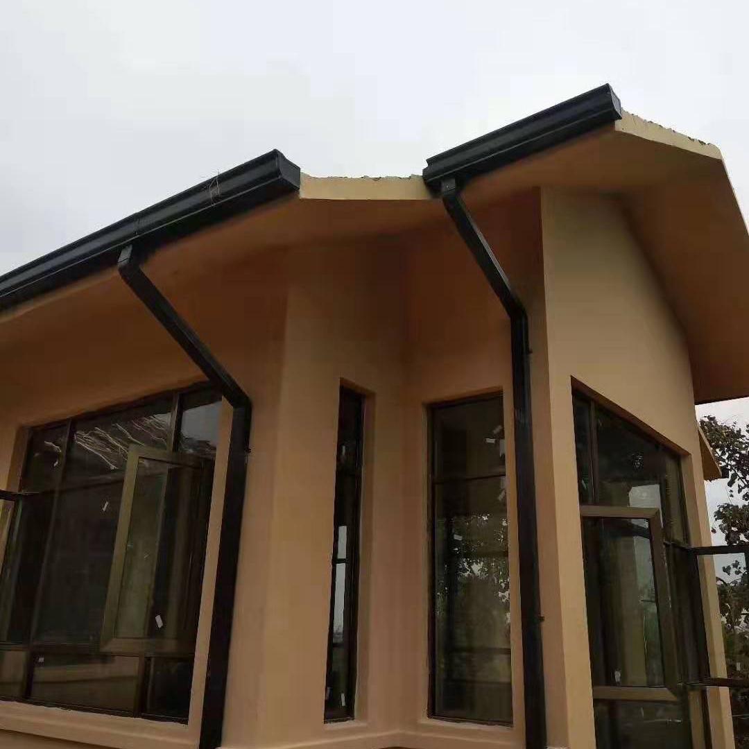無錫鋁合金天溝廠家,屋檐雨水槽排水系統