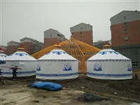上海豪华实木工艺蒙古包售后服务