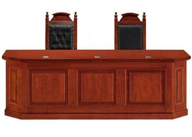 书记桌法官桌