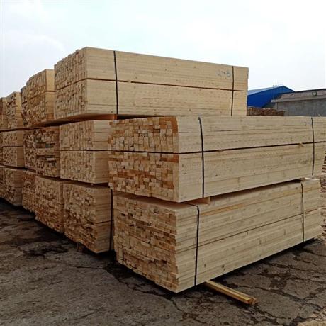 建筑木方厂家 松木建筑工程用木方澳松 建筑木方辐射松