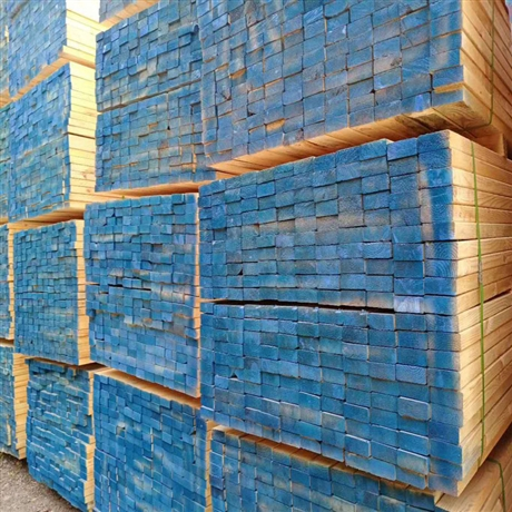 江苏辐射松建筑木方 批发建筑工地工程木方 实木抗压辐射松木方