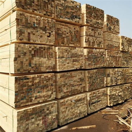 建筑材料方木 厂家直供无节工地支模 木材抗压铁杉木建筑木方
