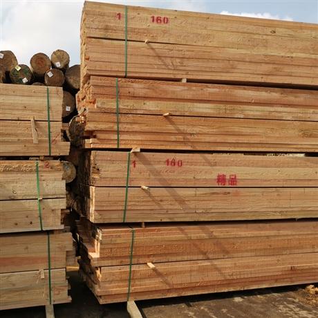 江浙沪土木工程白松 建筑木方户外 工程定制建筑木方木条