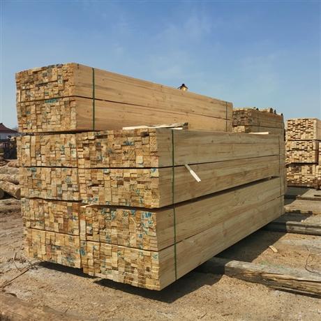 铁杉原木木方 澳松木方建筑木方 规格工程木方厂家定制 铁杉木方