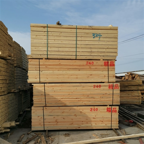 厂家加工直销建筑方木 铁杉花旗松铁杉工程 工地松木建筑木方