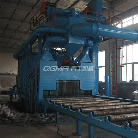 钢结构焊接件抛丸机