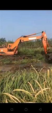 广州清远水上清淤挖掘机租赁维修