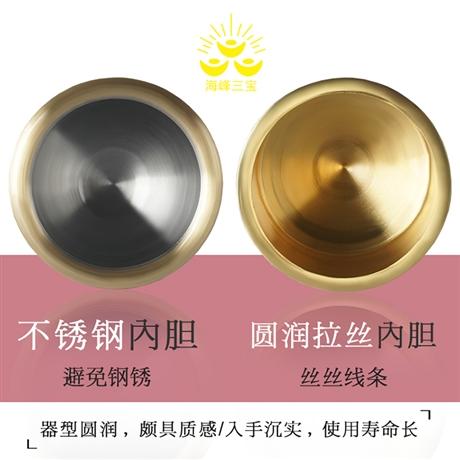 酒器爵杯仿古 海峰三宝  常年供应 纯铜杯供水杯