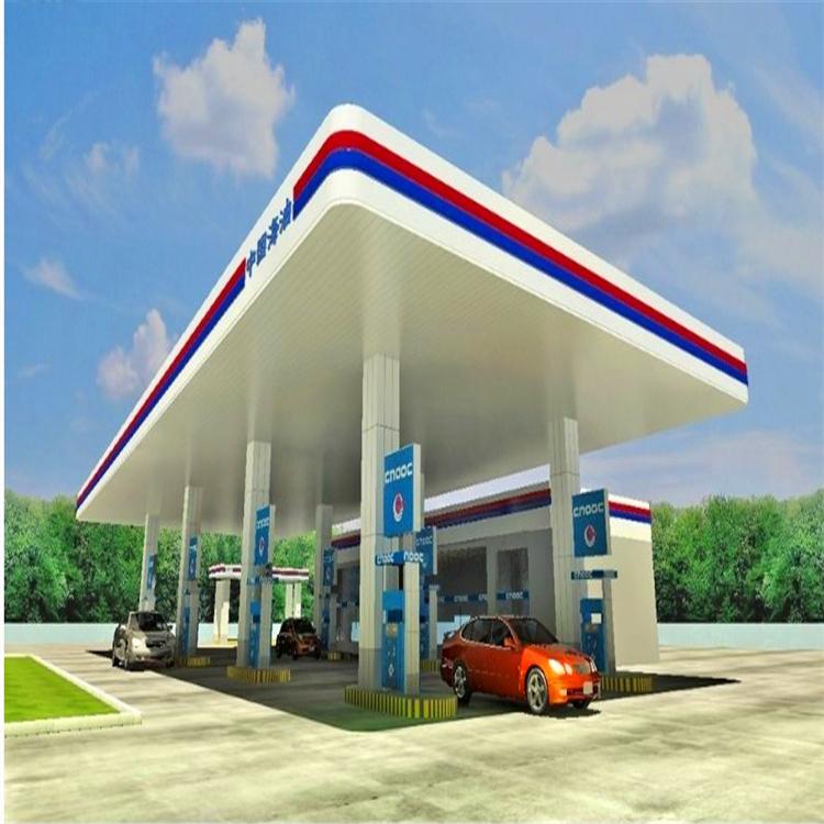 高速服务区加油站罩棚铝条扣板