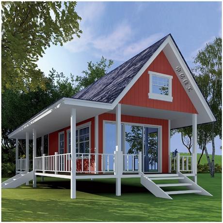 轻钢结构别墅厂家直供 装配式集成房屋 私人定制设计安装
